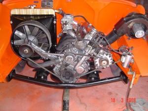 Motor eingebaut (3)