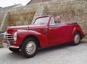 """Skoda 1101 Tudor Sodomka"""" Cabriolet, Bj. 1948"""