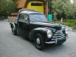 Nachkriegsmodelle mit Frontmotor