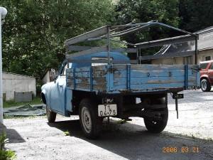1202 Pickup hinten