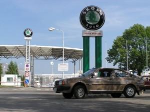 41.Treffen der Skoda Sportfahrzeuge im Hradek nad Nisou