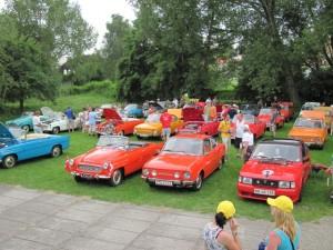 45.Treffen der Skoda Sportfahrzeuge in Melník