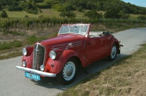 Sigurds Skoda Popular Roadstar 1939